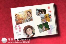 宝宝成长纪念册制作 宝宝纪念册设计的准备照片素材