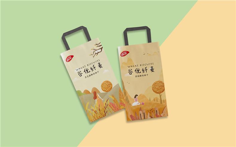 【食品包装设计】 饼干产品包装设计 成都包装设计公司