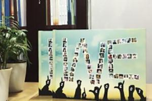 超个性高中毕业纪念册设计制作案例-同学录设计