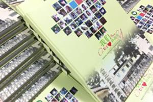 列五书池2017届小学毕业纪念册设计-毕业相册制作