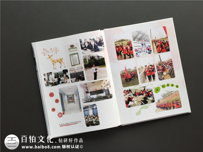 2017成都实验外国语学校毕业纪念册|同学录设计