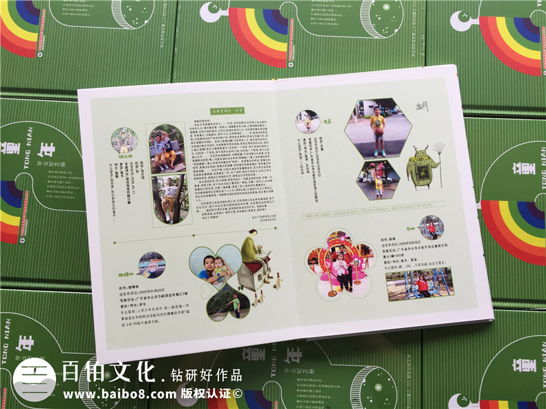 【小学毕业纪念相册】 班主任给孩子们做影集-创意版面设计