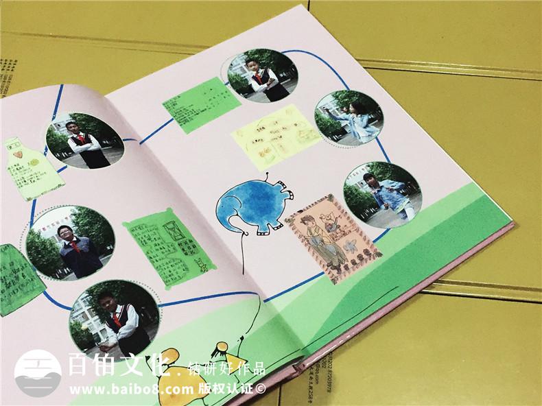 成都明道小学六年级毕业纪念册-班级毕业同学录