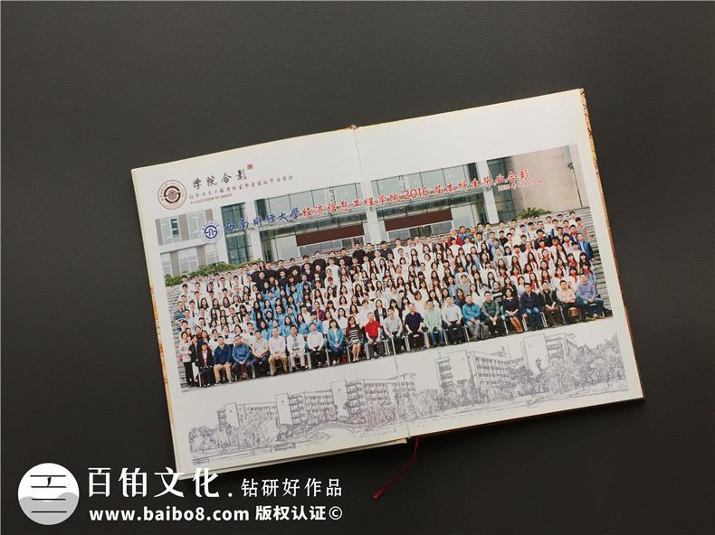 怎么做一本大学毕业纪念册,能把全院同学都展示出来-西南财经大学
