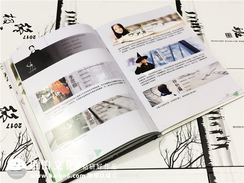 我们的毕业季纪念相册制作、毕业纪念册制作的优势特点!