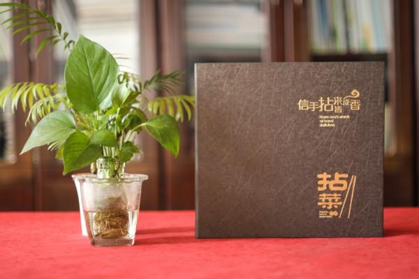 五星级酒店特色餐厅制作高档菜单实拍图片-给菜谱设计厂家跪了!