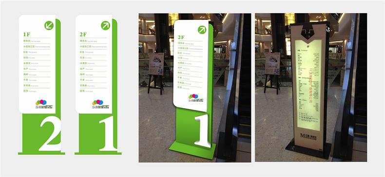 【商场导视系统设计】 商业空间导视布局规划 大商场标识