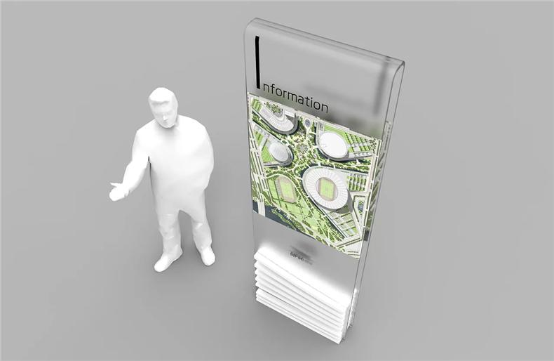 【工业园区导视系统设计】 办公区标识系统设计 指示标牌制作