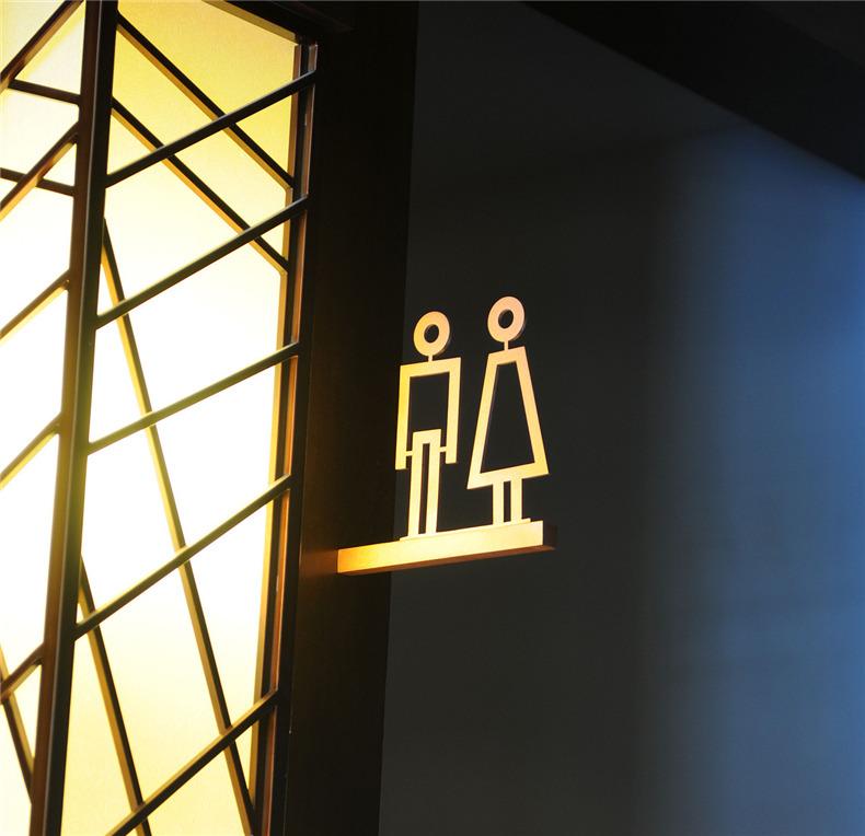 假日酒店导视标识设计 酒店导视系统设计制作案例
