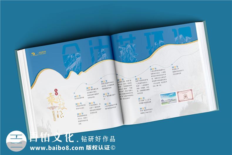 上市公司纪念邮册定制-集团公司发展图册含邮票设计怎么做