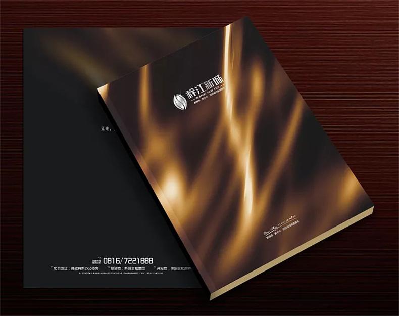 【高端楼书设计制作】售楼处房地产宣传画册怎么做高档简约大气!