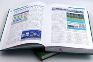 湖南科技年鉴-成都年集精装书设计制作