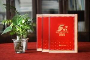 单位十周年庆纪念相册方案-企业周年册怎么设计比较大气