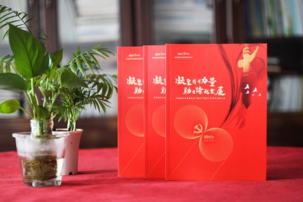 党建工作活动纪念册-建党99周年制作画册发给先进党组织和优秀党员