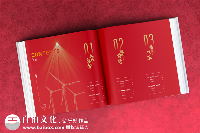 企业年会纪念册制作-为企业周年庆设计纪念册的那些事第2张-宣传画册,纪念册设计制作-价格费用,文案模板,印刷装订,尺寸大小