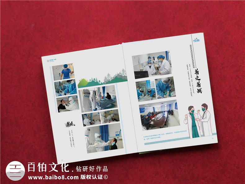 抗疫结束送支援医护人员的纪念册-抗击疫情宣传影集纪念画册设计