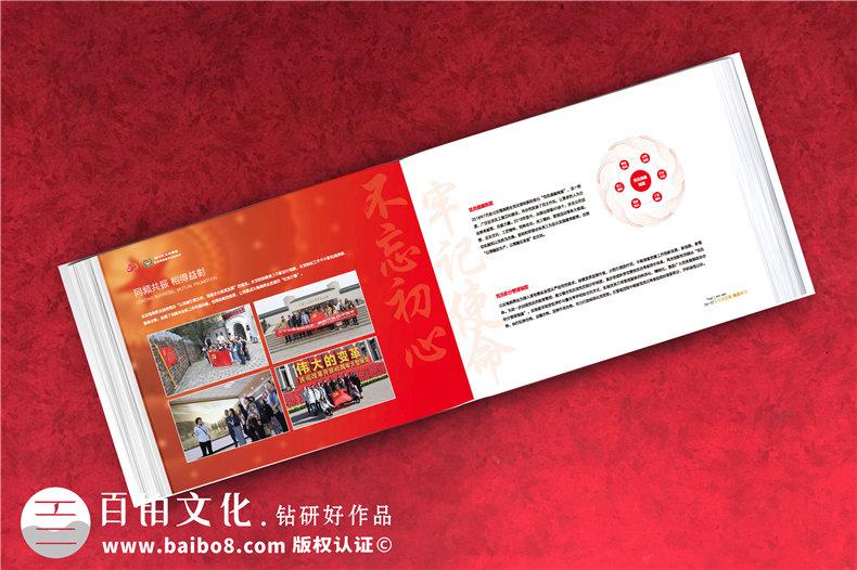 企业周年庆纪念册包含哪些内容框架-分公司支部建厂成立二十年画册