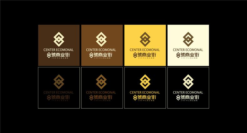「商业街VI设计」如何做一套高端地产品牌形象设计