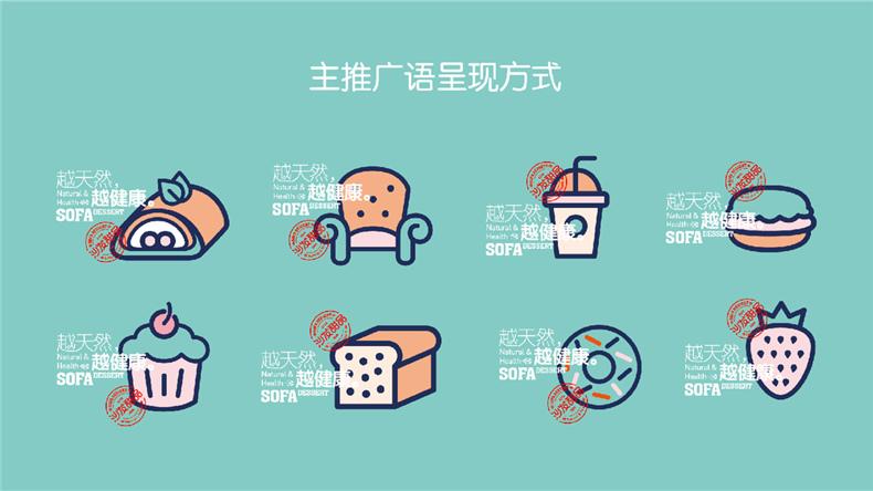 全套甜品店vi设计手册-连锁型蛋糕烘焙品牌店离不开专业vi设计公司