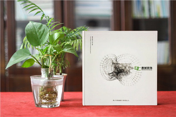 装修公司宣传册设计从哪几个方面入手-装饰公司画册制作经典案例!
