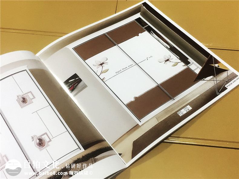 精品艺术门板家具画册|产品宣传画册