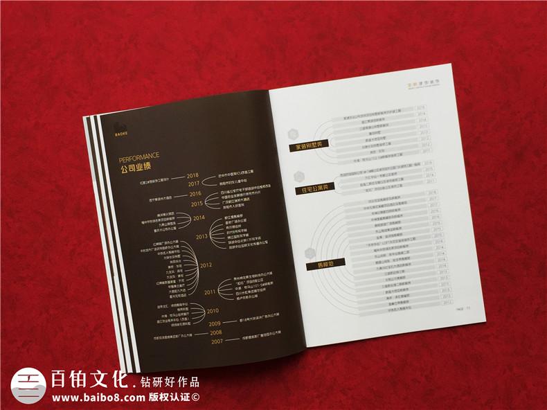 装修公司宣传画册内容如何设计-制作室内装饰设计企业彩页图册费用