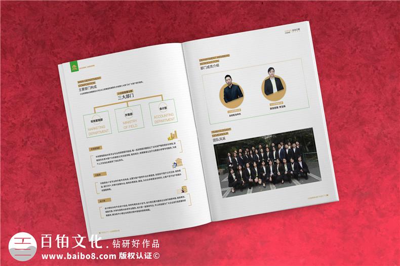 企业服务公司宣传册制作-财税咨询会计服务公司画册设计