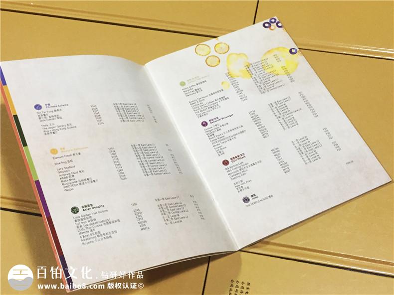 商业街区导视宣传画册-商业广场介绍画册