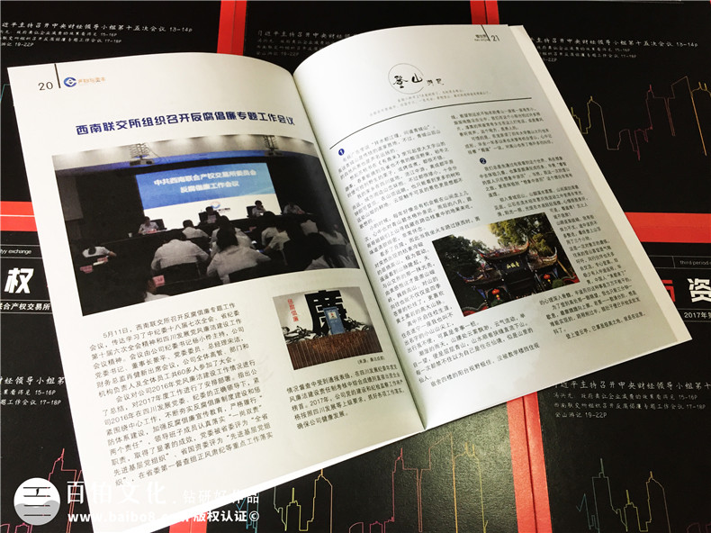《产权与资本》企业内刊设计-公司形象画册