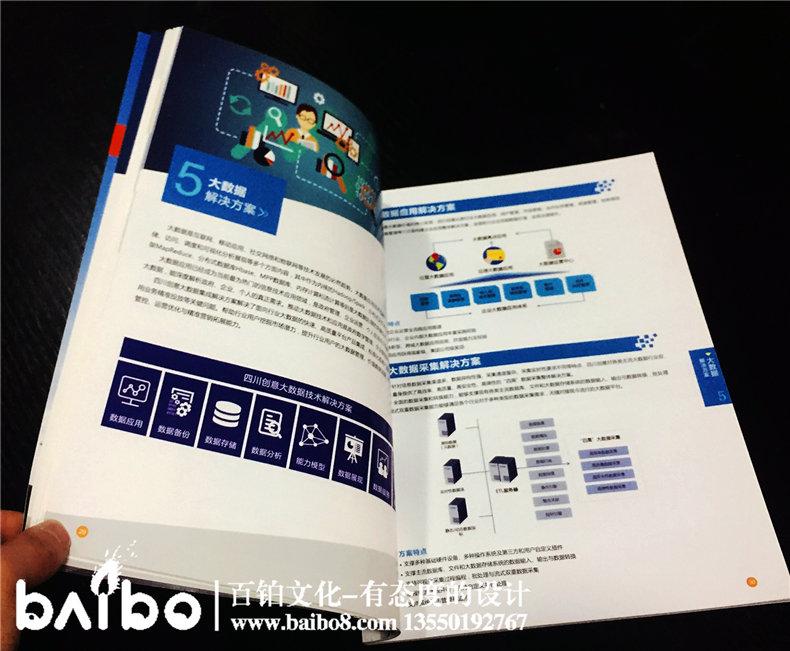 信息技术解决方案手册-成都公司宣传册制作