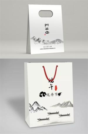 【手提袋设计】 企业礼品包装袋制作 公司办公手提袋印刷