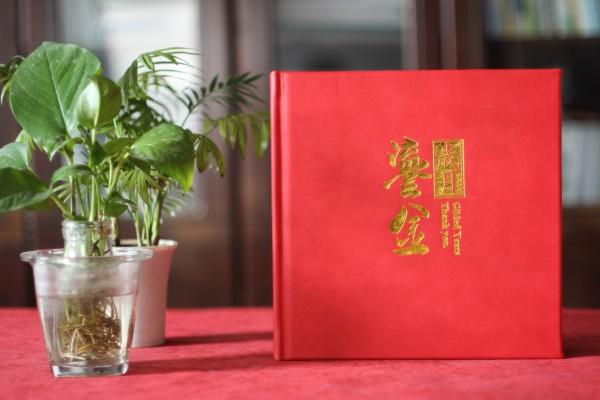人社局长退休离任纪念相册-领导干部任职期间工作回忆画册