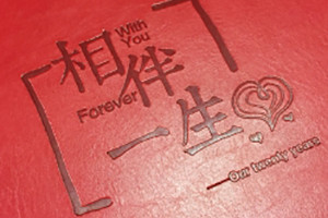结婚周年纪念册定制_相爱二十年相册