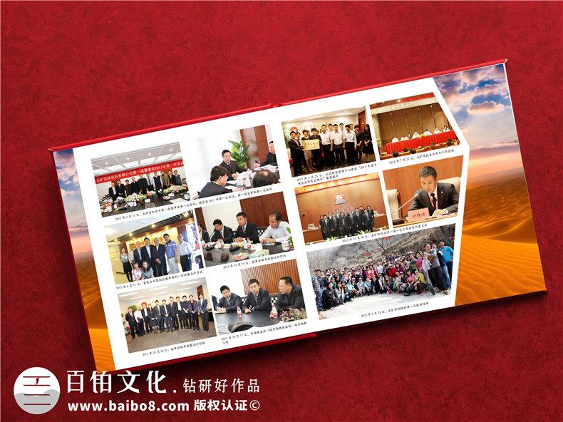 公司领导去新岗位做十年工作报告相册-国企纪委领导干部回忆录图册