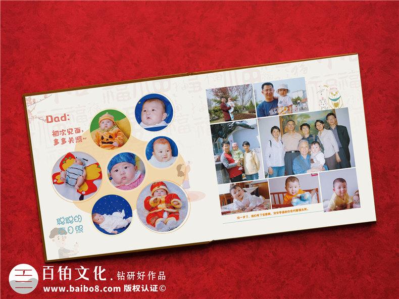 怎样制作孩子的成长相册-把儿子从小到大的照片做成影集