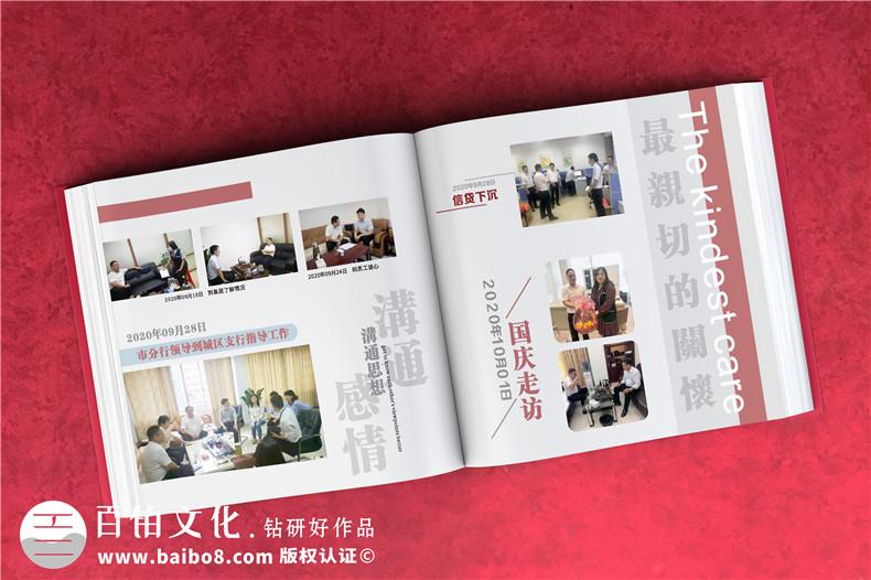 邮政银行离职老员工相片合集做相册-退休董事长写真集