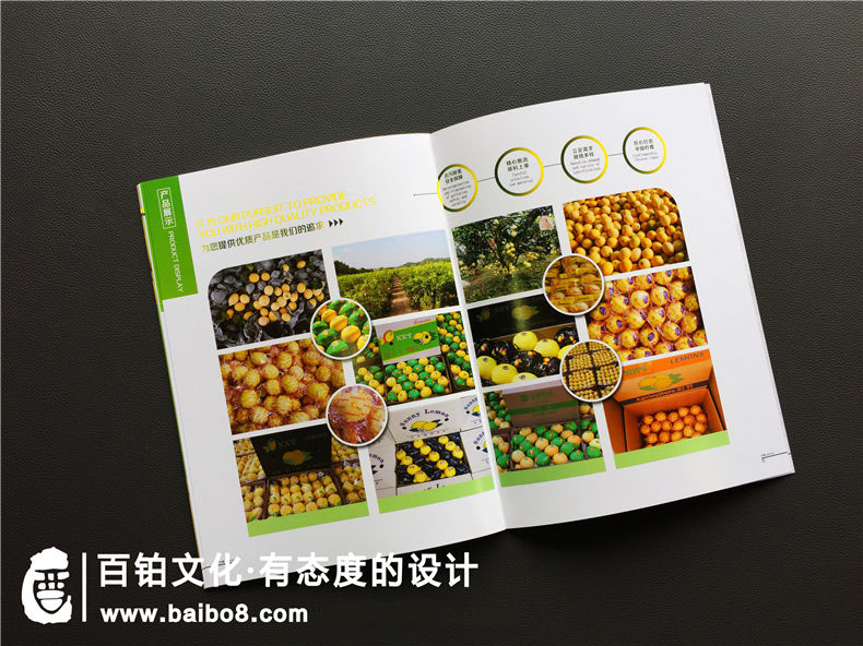 绿色生态农业宣传册应该怎么设计